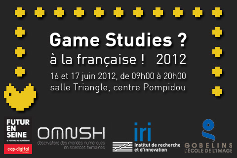 Games Studies à la française.
