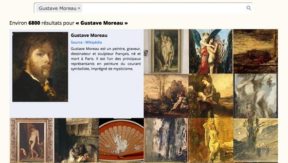 Joconde Gustave Moreau 592