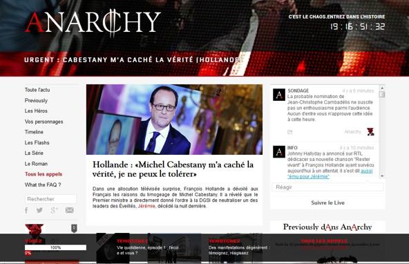 Le site Anarchy.fr